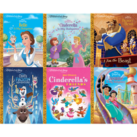A Treasure Cove Story Disney Princess Book Bundle (6 Books) - Books Gifts