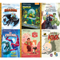 A Treasure Cove Story Heroes Book Bundle (6 Books) - Books Gifts