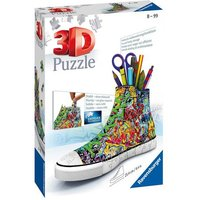 Ravensburger Graffiti Sneakers 3D Jigsaw Puzzle - 108pc - Ravensburger Gifts