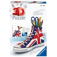 Ravensburger British Flag Sneakers 3D Jigsaw Puzzle - 108pc - Ravensburger Gifts