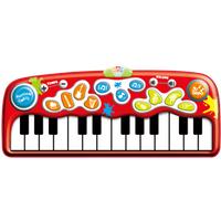 WinFun Step-to-Play Jumbo Piano Mat - Piano Gifts