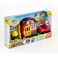 WinFun Fire Station Fun Playset - Fun Gifts