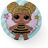 L.O.L Surprise! - Squeeze Ball 10cm - Queen Bee - Lol Surprise Gifts