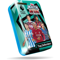 Match Attax Premier League Trading Card Game - Top Defenders Tin