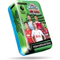 Match Attax Premier League Trading Card Game - International Stars Tin