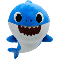 Baby Shark Singing Plush - Daddy Shark 35cm - Singing Gifts