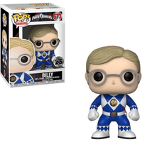 Funko Pop! Television: Power Rangers - Blue Ranger Billy - Rangers Gifts