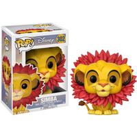 Funko Pop! Lion King - Simba Leaf Mane - Lion King Gifts