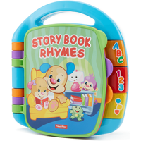 Fisher-Price Laugh and Learn Electronic Educational Toddler and Baby Book - Educational Gifts