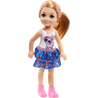 Image of Barbie Club Chelsea 15cm Doll - Cat Outfit