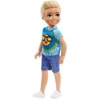 Image of Barbie Club Chelsea 15cm Boy Doll - Emoji Tie Die Outfit