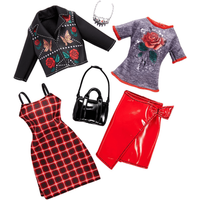 Barbie Fashions Punk and Rock - 2 Pack Outfit - Punk Gifts