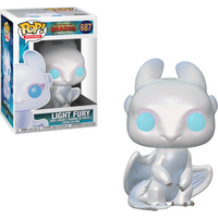 Funko Pop! Movies: How To Train Your Dragon - The Hidden World  - Light Fury - How To Train Your Dragon Gifts