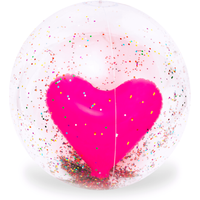 Inflatable Giant 85cm Pool Toy - Heart Beach Ball