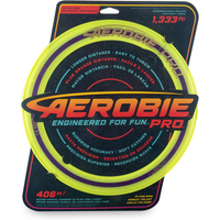 Aerobie Pro 33cm Flying Ring - Yellow - Flying Gifts