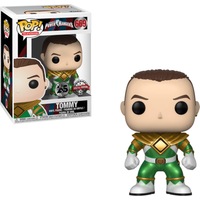 Funko Pop! Television: Power Rangers - Green Ranger (Without Helmet) - Rangers Gifts