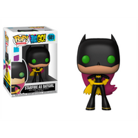 Funko Pop! Television: Teen Titans Go! - Starfire As Batgirl - Television Gifts
