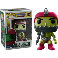 Funko Pop! Television: Masters of the Universe -  Trap Jaw Metallic - Television Gifts