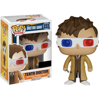 Funko Pop! Television:  Doctor Who - 10th Doctor with 3D Glasses