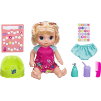 Baby Alive Potty Dance Baby - Blonde Straight Hair - Potty Gifts