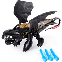 DreamWorks Dragons -Toothless Dragon Blaster with Foam Darts - Darts Gifts