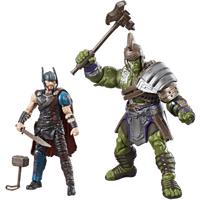 Marvel Legends Thor Ragnarok 10cm Action Figures - Thor and Hulk