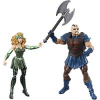 Marvel Legends Thor Ragnarok 10cm Action Figures - Executioner and Marvel's Enchantress