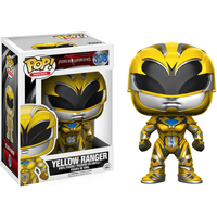 Funko Pop! Movies: Power Rangers - Yellow Ranger - Power Rangers Gifts