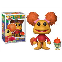 Funko Pop! Television: Fraggle Rock 35th Anniversary - Red with Doozer - Television Gifts