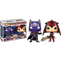 Funko Pop! Games: Marvel vs. Cacom Infinite - Black Panther vs Monster Hunter