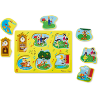 Melissa and Doug Sing-Along Nursery Rhymes 1 - Sound Puzzle - Nursery Gifts