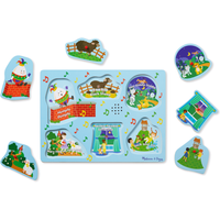 Melissa and Doug Sing-Along Nursery Rhymes 2 - Sound Puzzle - Nursery Gifts