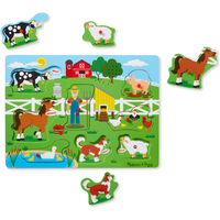 Melissa and Doug Old McDonalds Farm Sound Puzzle