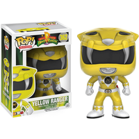 Funko Pop! Television: Power Rangers - Yellow Ranger - Rangers Gifts