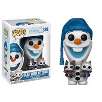 Funko Pop! Disney: Olaf's Frozen Adventure - Olaf With Kittens - Kittens Gifts