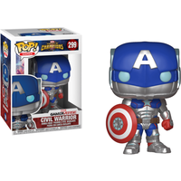 Funko Pop! Games: Marvel Contest Of Champions - Civil Warrior - Games Gifts