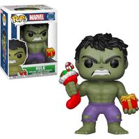 Funko Pop! Marvel: Hulk - Hulk Stocking (Christmas Edition) - Hulk Gifts