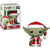 Funko Pop! Movies: Star Wars - Santa Yoda (Christmas Edition) - Yoda Gifts