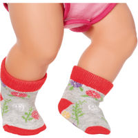 BABY Born Trend Socks for 43cm Dolls (Styles Vary, One Supplied) - Dolls Gifts
