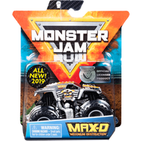Monster Jam 1:64 Scale Die-Cast Monster Truck - Ruff Crowd Series (Styles Vary) - Monster Truck Gifts