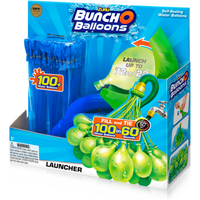 Bunch O Balloons Launcher with 100 Water Balloons - Blue By ZURU - Balloons Gifts