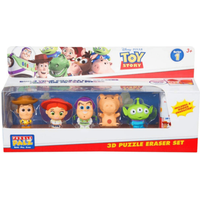 3D Puzzle Eraser Set 6 Pack - Toy Story 4
