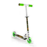 Dinosaur Scooter with 2 Light Up Wheels - Scooter Gifts