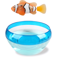 Robo Alive Real-Live Robotic Pet - Clownfish and Bowl - Bowl Gifts
