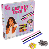 GL Style Make Your Own Glow Slider Charm Bracelets - Make Your Own Gifts