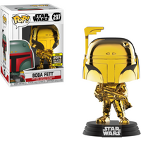 Funko Pop! Star Wars - Chrome Boba Fett - 2019 Galactic Convention (UK Exclusive) - Chrome Gifts