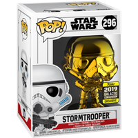 Funko Pop! Star Wars: Chrome Stormtrooper - 2019 Galactic Convention - Chrome Gifts