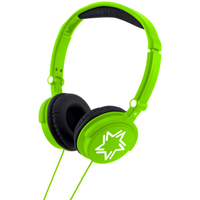 Stereo Headphones - Bright Green - Headphones Gifts