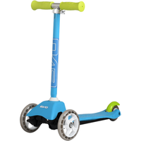 Evo 3 Wheeled Mini Cruiser Scooter - Blue - Scooter Gifts