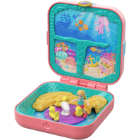 Polly Pocket Hidden Hideouts - Polly's Mermaid Cove Playset - Polly Pocket Gifts